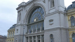 Budapest Main Railway Station Footage