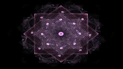Kaleidoscope background. Abstract fractal shapes. Beautiful multicolor kaleidoscope texture. Fantasy Animation