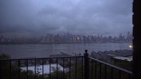 Manhattan Skyline View Live Action