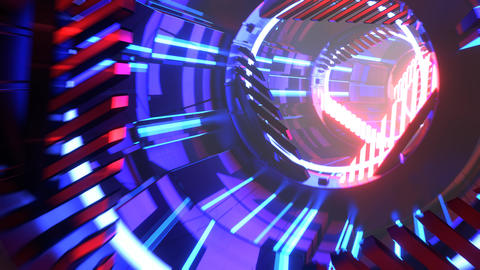 Sci-Fi Tunnel Type C Animation