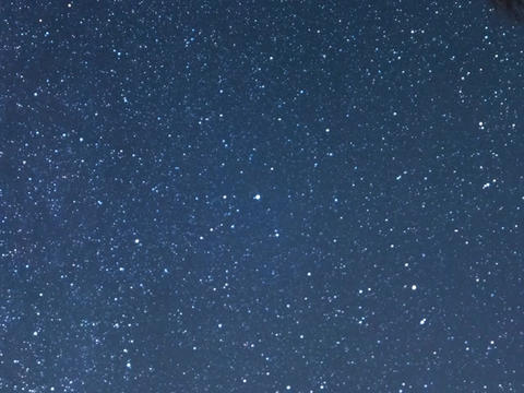 Clear starry sky. Zoom Live Action