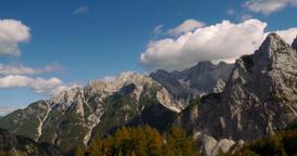 Kranjska Gora Mountains, Robicje, Slovenia Footage