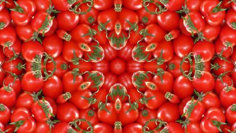 Kaleidoscope fruit vegetable 4k357 Footage