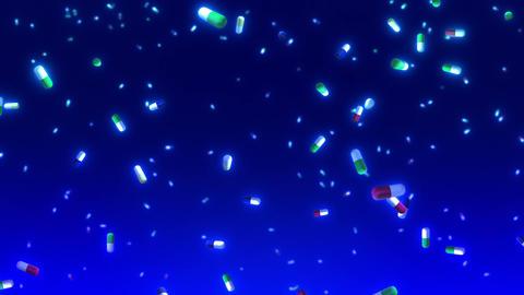 SHA Medicine Fall BG Blue CG動画