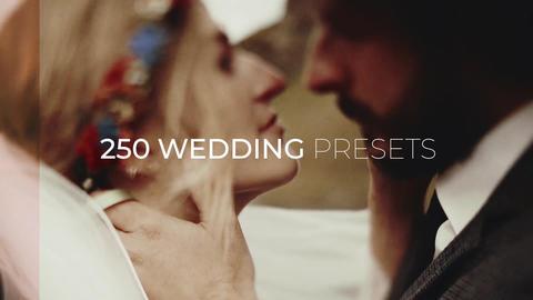 250 Wedding Color Presets for Premiere Pro