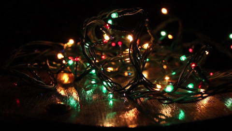 Christmas lights 影片素材