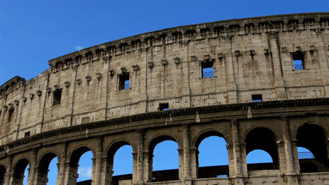 Coliseum, Rome, italy Footage