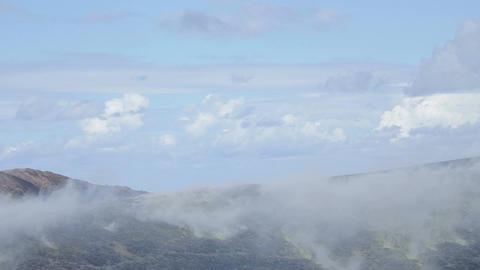 active volcano islands at Lipari Italy: Vulcano, geology, Sicily Footage