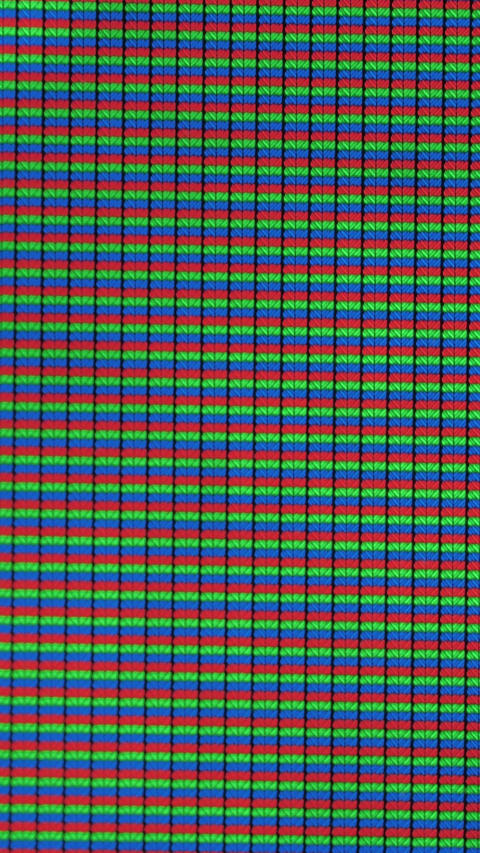 RGB lights on a screen Live Action