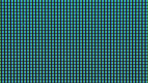 RGB light pattern of a display in detail Live Action