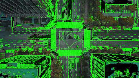 デジタルトランジション After Effectsテンプレート