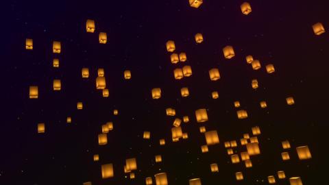 Lanterns In The Sky 애니메이션