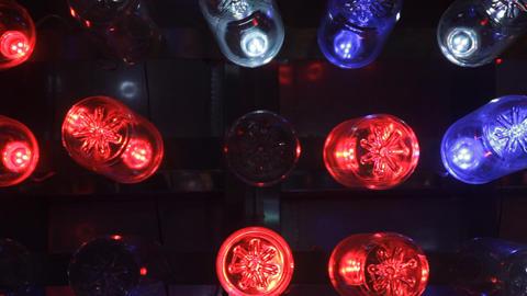 Fancy Lights On Display Footage