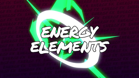 Final Cut Pro - Energy Elements Apple Motion Template