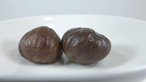 Peeled sweet chestnut021 Live Action