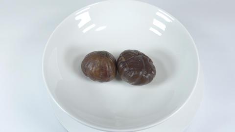 Peeled sweet chestnut023 Live Action