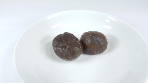 Peeled sweet chestnut026 Live Action
