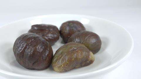 Peeled sweet chestnut028 Live Action