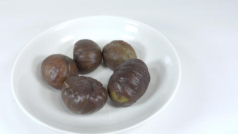 Peeled sweet chestnut030 Live Action