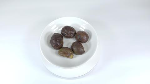Peeled sweet chestnut033 Live Action