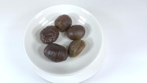 Peeled sweet chestnut034 Live Action