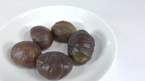 Peeled sweet chestnut036 Live Action