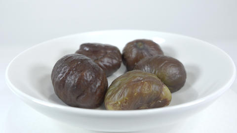 Peeled sweet chestnut038 Live Action