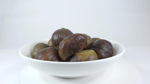Peeled sweet chestnut040 Live Action