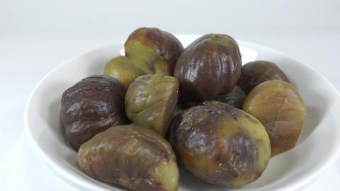 Peeled sweet chestnut042 Live Action