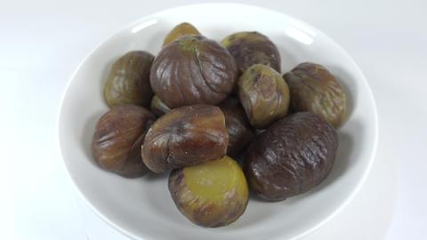 Peeled sweet chestnut043 Live Action