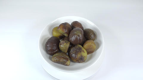 Peeled sweet chestnut044 Live Action