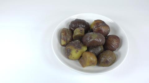 Peeled sweet chestnut047 Live Action