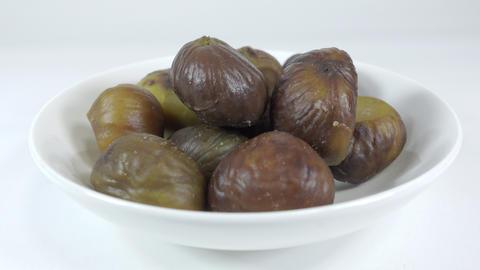 Peeled sweet chestnut051 Live Action