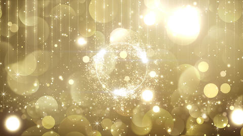particle effect title background Animation