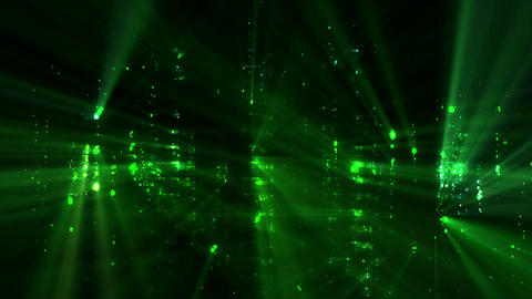 Glowing Particles Background Loop Animation