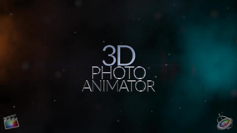 3D Photo Animator for FCPX Apple Motion Template