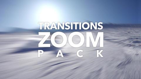 Zoom Transitions Pack Plantilla de Apple Motion