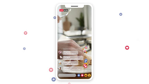 Facebook Live Apple Motion Template