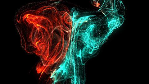流体、液体のイメージCG CG動画