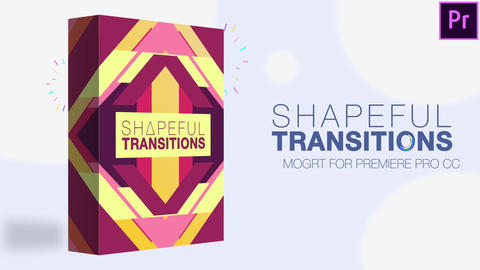 65 Transitions Motion Graphics Template