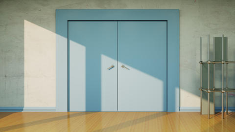 Door Transition Animation