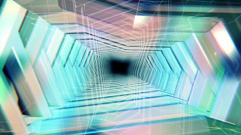 VJ CG トンネル空間 ループ CG動画