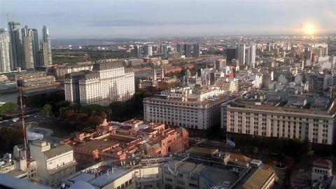 Buenos Aires From Above Footage