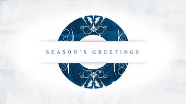Parallax Christmas Greetings After Effects Template