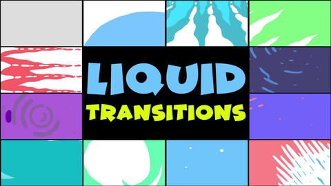 Liquid Transitions Pack 10 Apple Motion Template