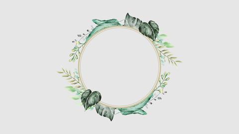 Botanical 0201 circle loop 097-192f 애니메이션