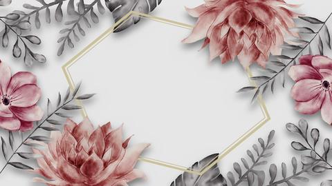 Botanical 0202 loop 097-192f white frame 애니메이션
