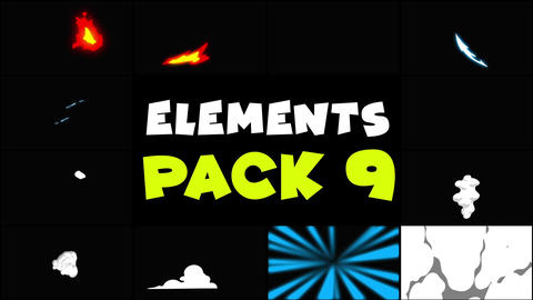 Flash FX Elements Pack 09 After Effects Template