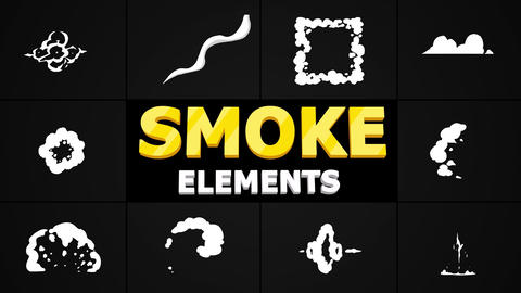 Smoke Pack Apple Motion Template