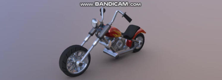 Chopper 3D Model